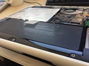 MacBookのバッテリー不具合対応2