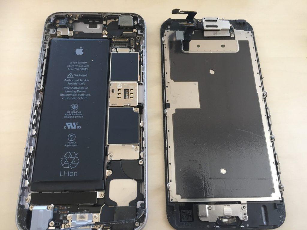 iphone6sパネル交換2