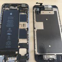 iphone6sパネル交換対応