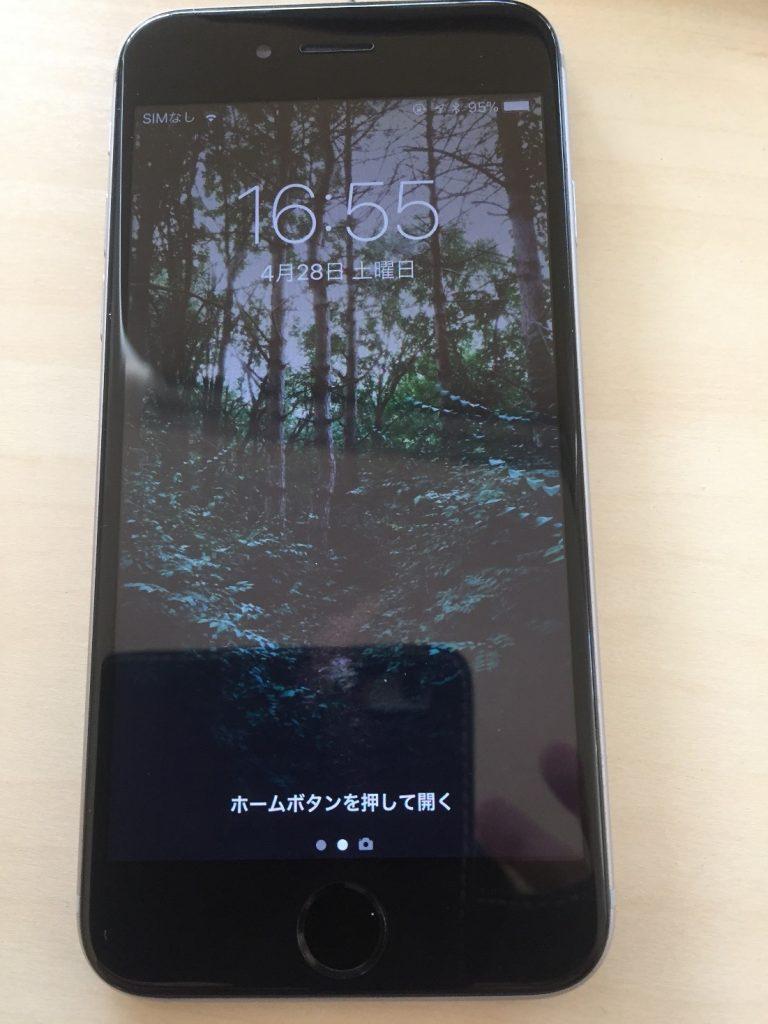 iphone6sフロントパネル交換3